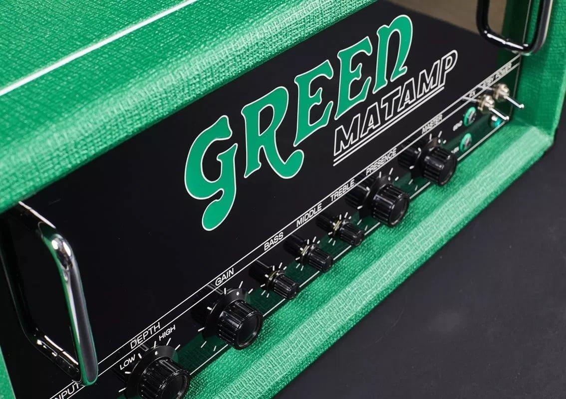 Green Matamp GT150 Angle